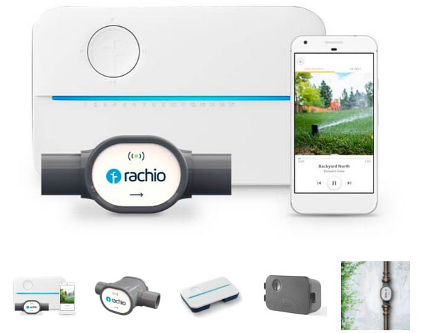 Our featured water efficient irrigation product rachio3 smart sprinkler controller